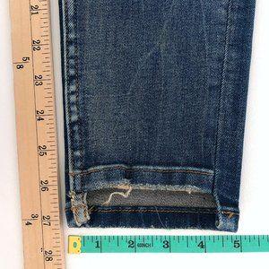 Zara Jeans - ZARA Women's Ripped Vintage Wash Skinny Jeans 06